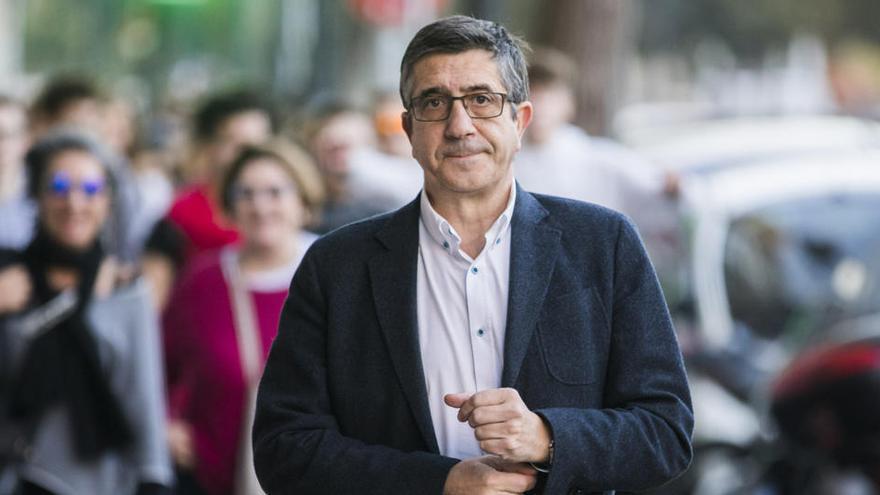 El PSOE propone a Patxi López para presidir la comisión de reconstrucción