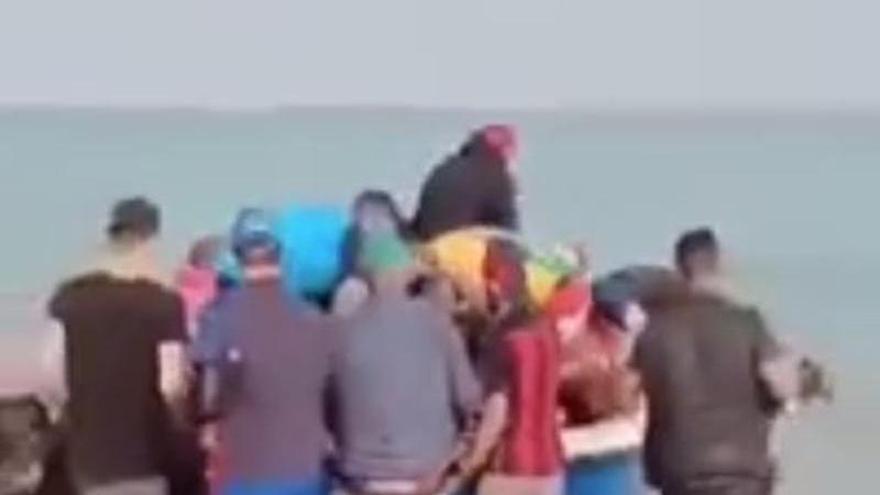 Así partieron de Argelia los migrantes que naufragaron en Cabrera