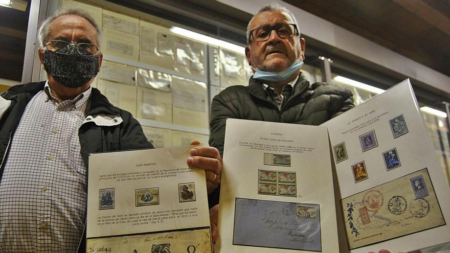 La filatelia polesa sella medio siglo de vida
