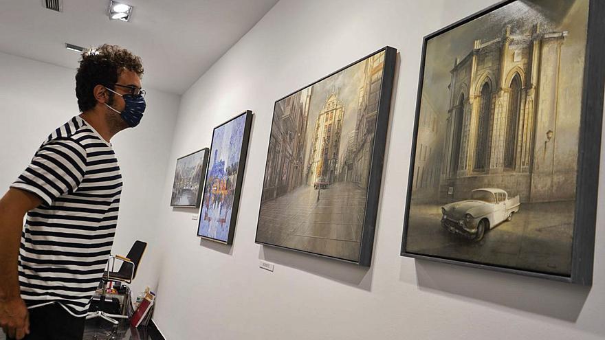Exposición colectiva de pintura y escultura en Espacio 36