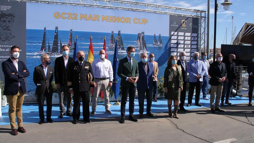 Los Fórmula 1 de la vela navegarán en el Mar Menor