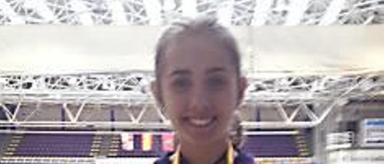 Gloria Fernández suma su cuarto oro de 2015 al ganar la Copa de España