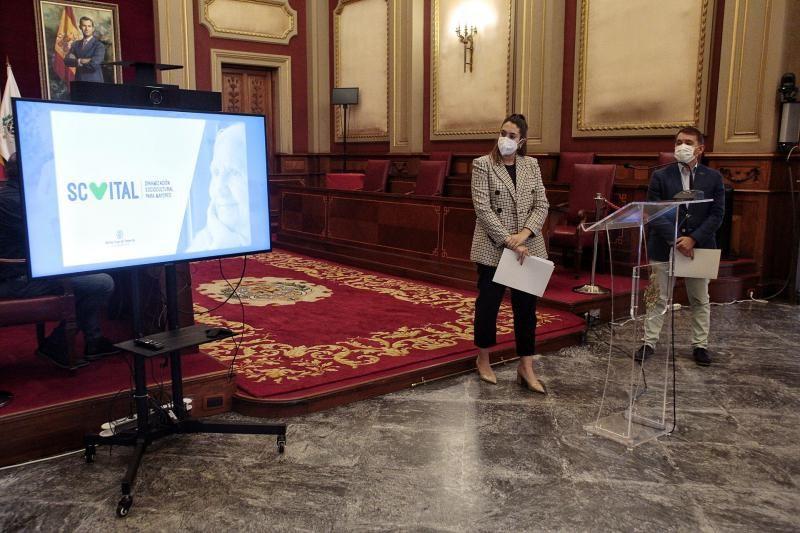 Bermúdez presenta el proyecto de ocio para mayores