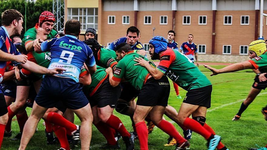 El rugby regresa a Zamora con victoria