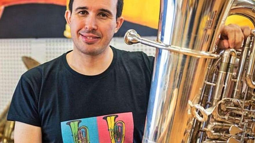 """Masterclass del toresano David Muñoz en el festival """"Italian Brass Week"""""""