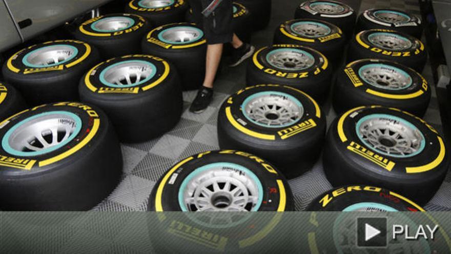 Con la vista puesta en los Pirelli