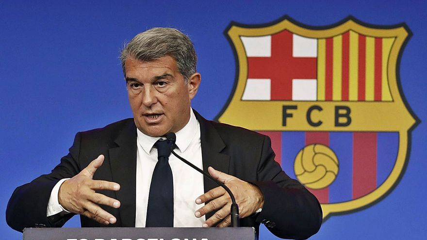 Laporta: «La renovació de Messi va molt bé, però      encara no està tancada»