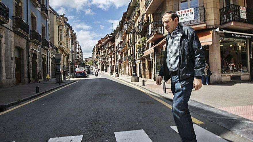 Los vecinos de Rosal y Quintana piden pases para utilizar las zonas peatonales