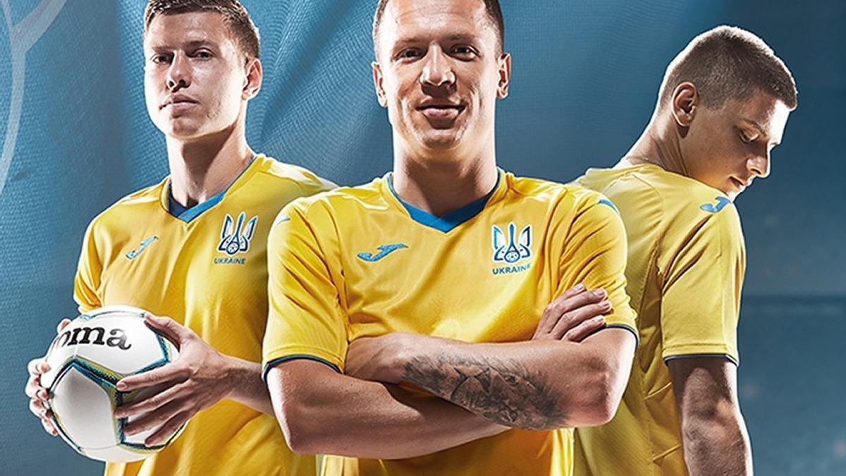 La camiseta de la selección de Ucrania.