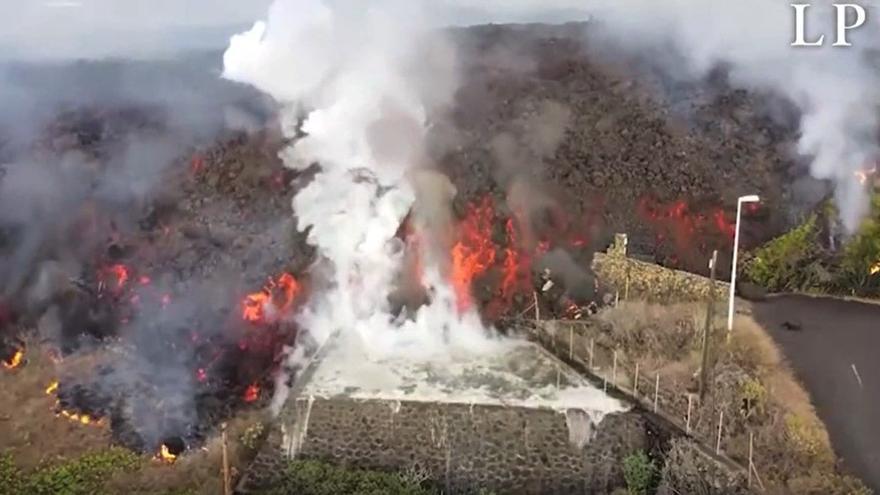 Vulkanausbruch auf La Palma: So frisst sich die Lava durch Siedlungen und Landschaft