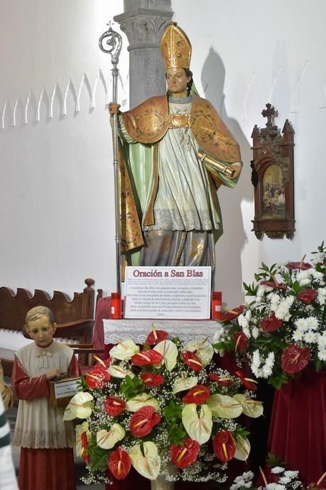 Celebración de San Blas en la iglesia de Santo Domingo - La Provincia