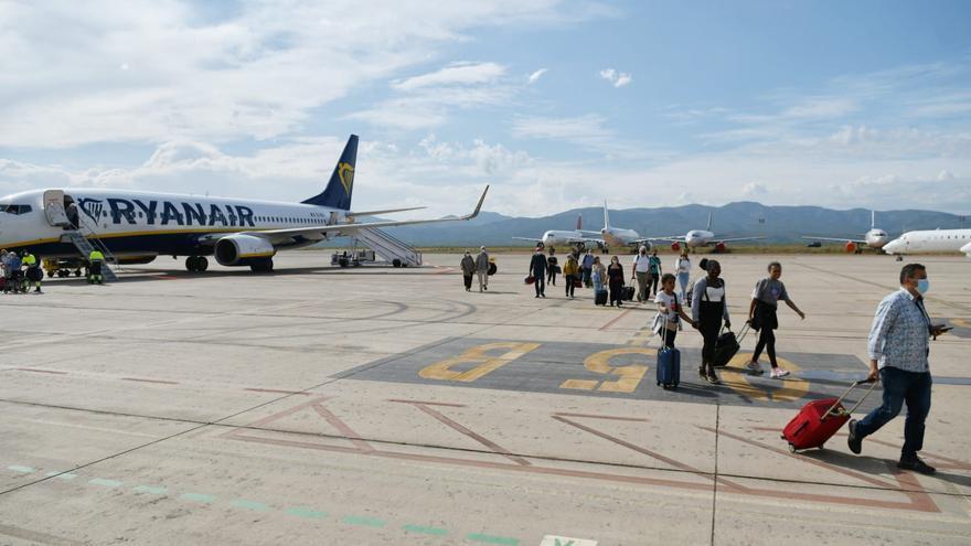 El aeropuerto de Castellón ya vuelve a tener vuelos regulares