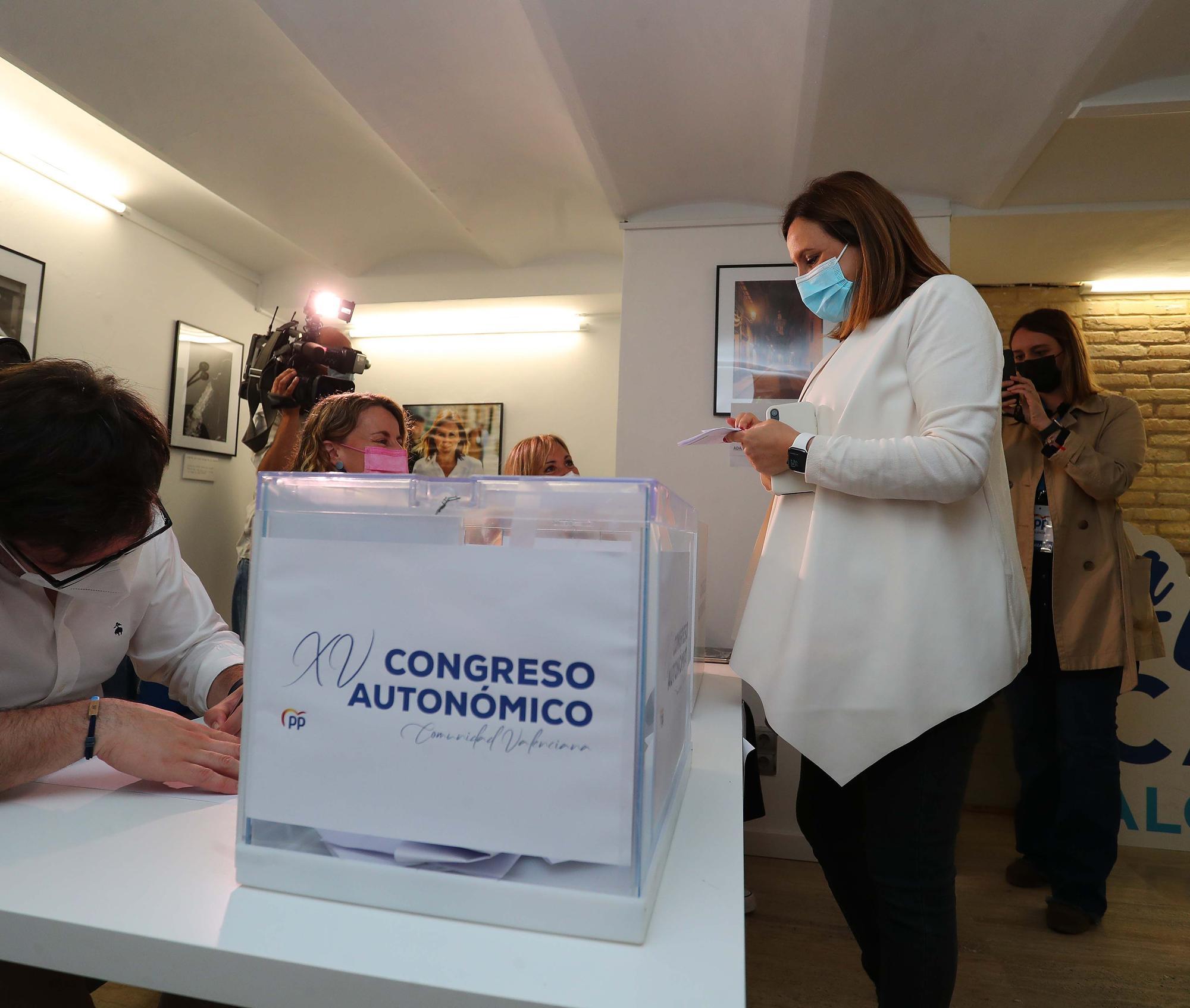 Votaciones en las primarias del PPCV