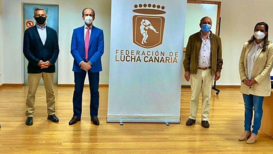 José Hernández Moreno se coloca al frente del Comité de Formación, Documentación y Divulgación de la Lucha Canaria