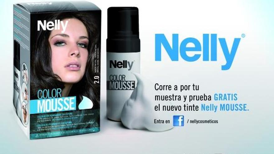Nelly lanza una nueva coloración permanente con espuma