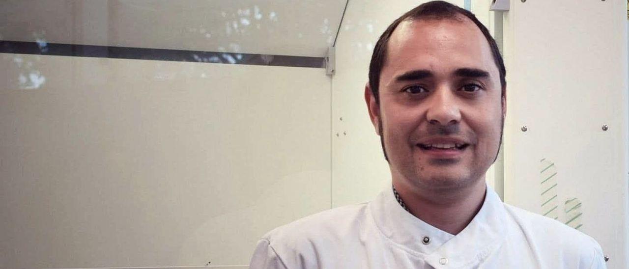Adán Pinto, investigador asturiano en Oxford.