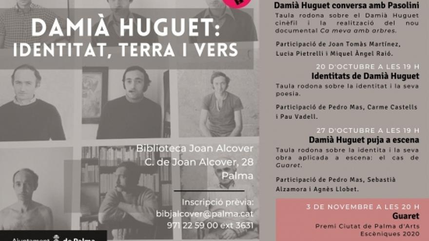 Damiá Huguet: Identitat, terra i vers; Identitats de Damià Huguet