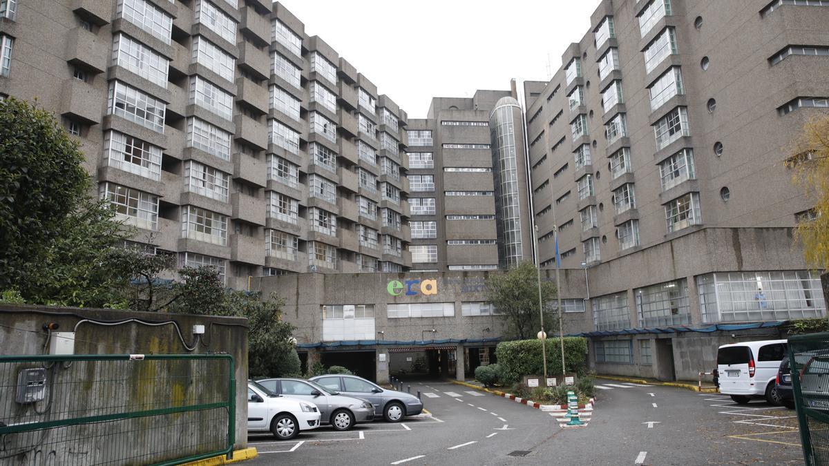 Exterior de la Residencia Mixta de Gijón.