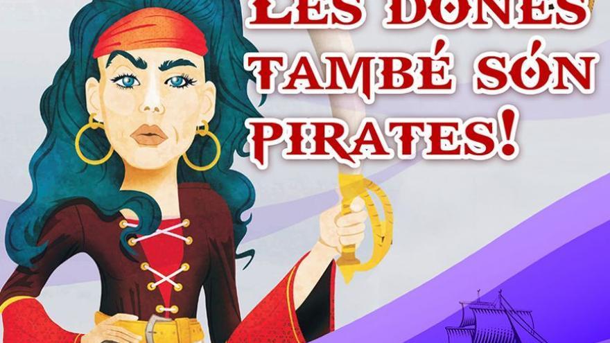 Exposició Les dones també són Pirates