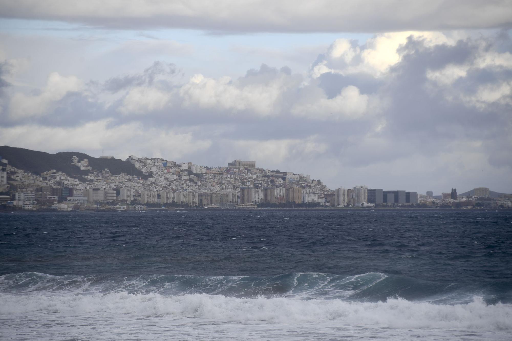 Borrasca en Las Palmas de Gran Canaria (26/11/20)