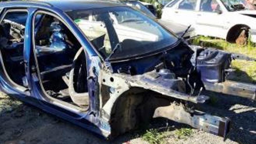 """La Guardia Civil busca al vendedor del coche de """"El Chicle"""" a un desguace de Mondariz"""