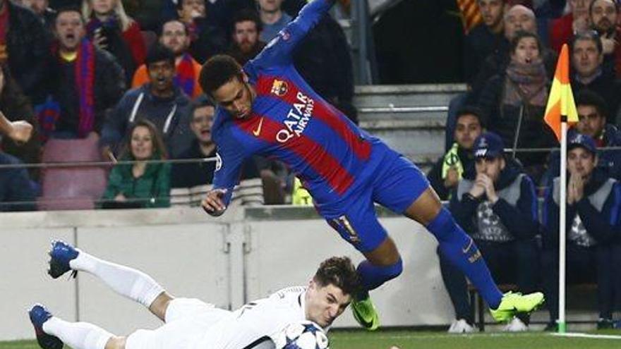 El PSG protesta a la UEFA per deu jugades del Camp Nou