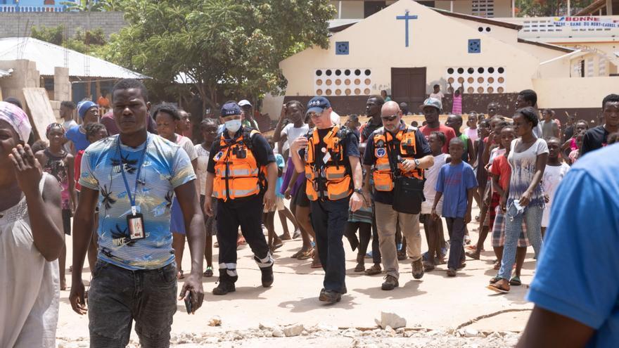 España envía a Haití 30 toneladas de ayuda humanitaria
