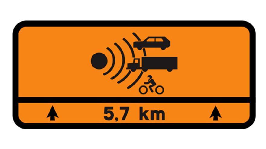 Si no sabes qué significa esta señal te expones a una fuerte multa