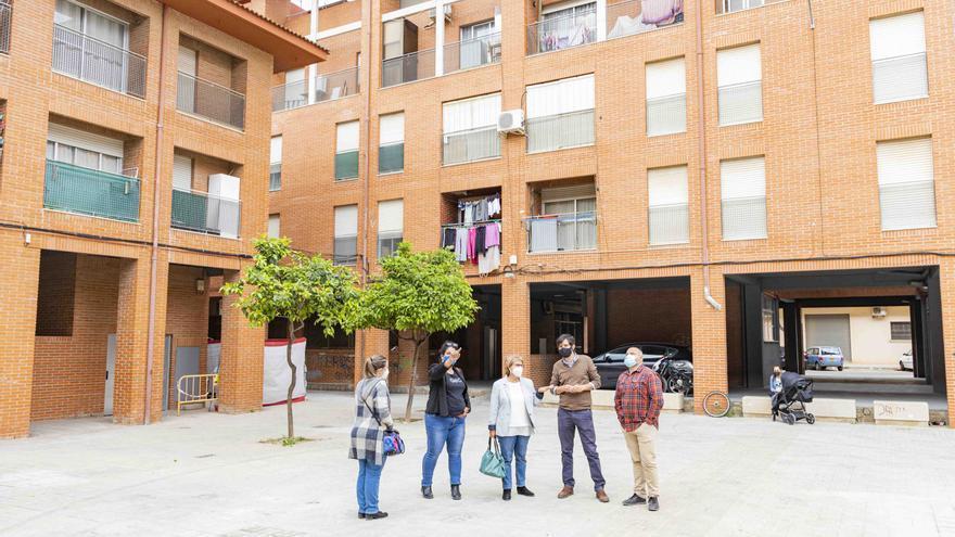 La rehabilitación de las viviendas del barrio Les Palmeres, a punto
