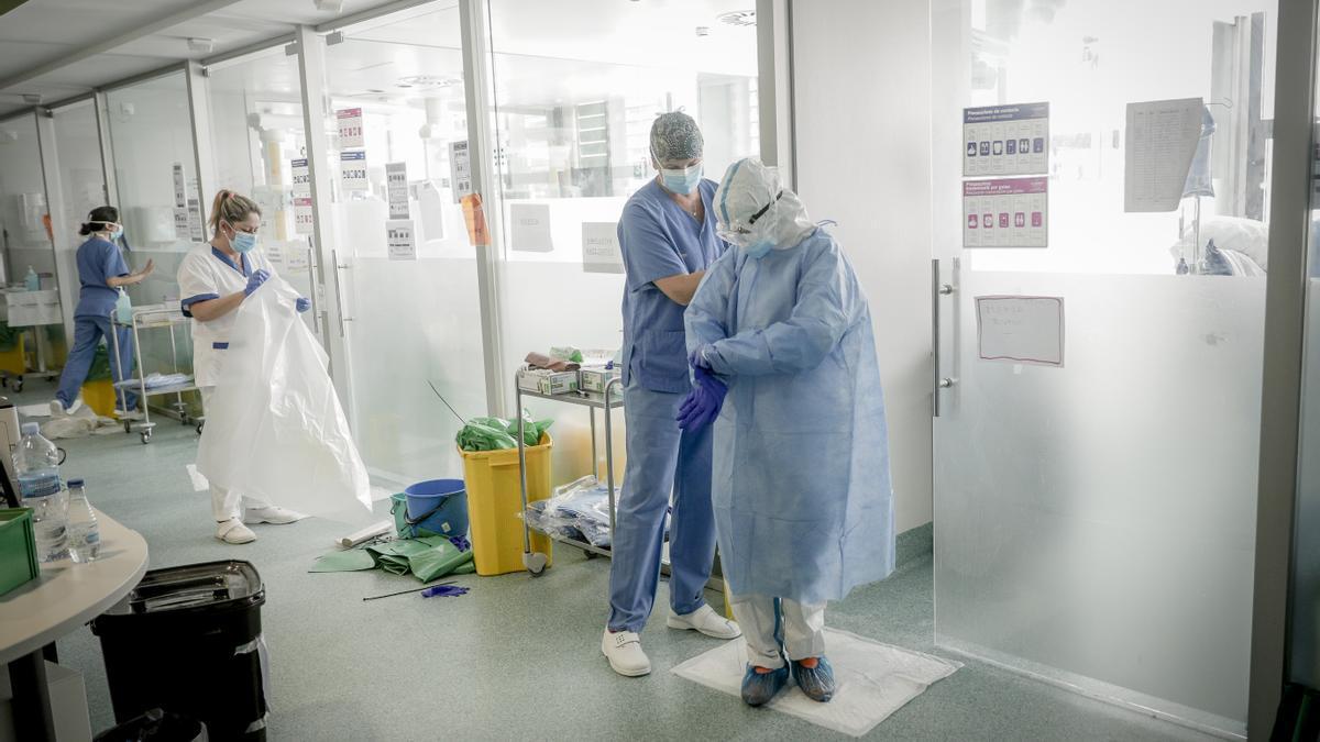 UCI durante la pandemia del coronavirus.