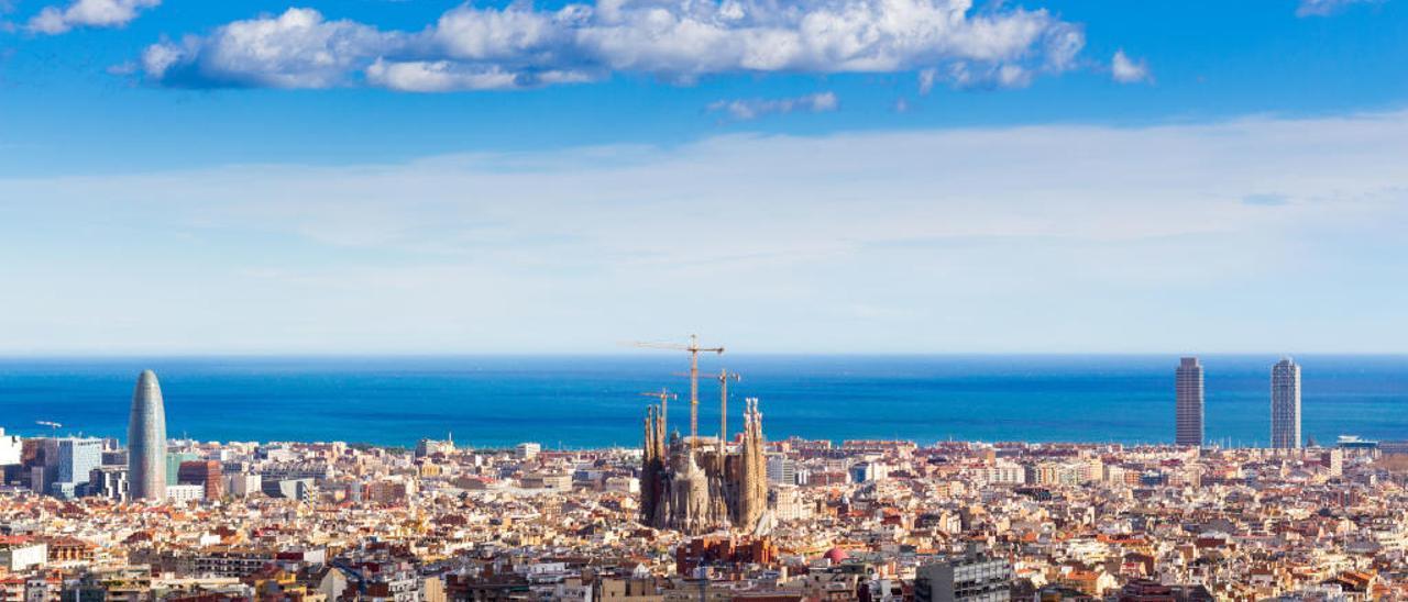 Panorámica de Barcelona.