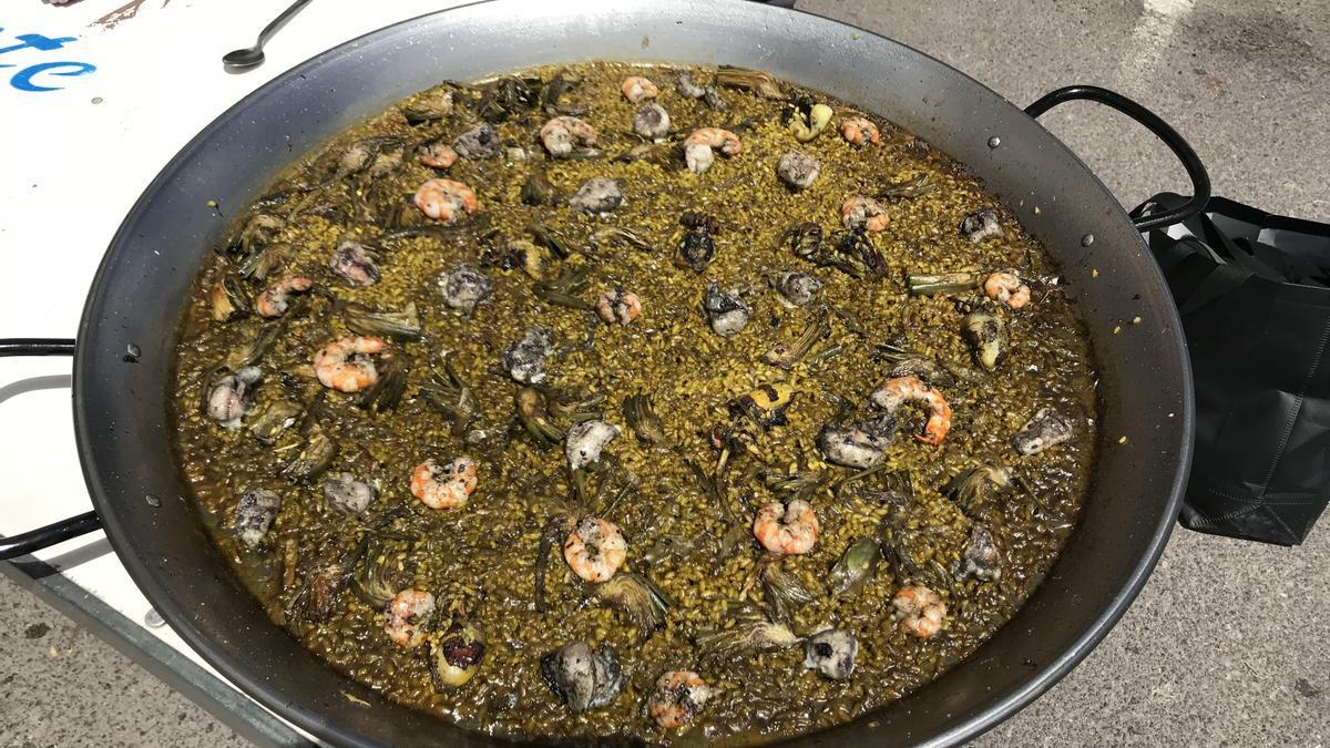 Imagen de uno de los platos tradicionales, la paella.