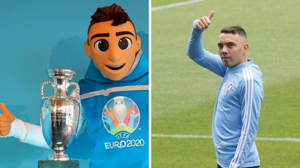 Iago Aspas y Skilzzy, los dos protagonistas de esta semana respecto a la Eurocopa 2020