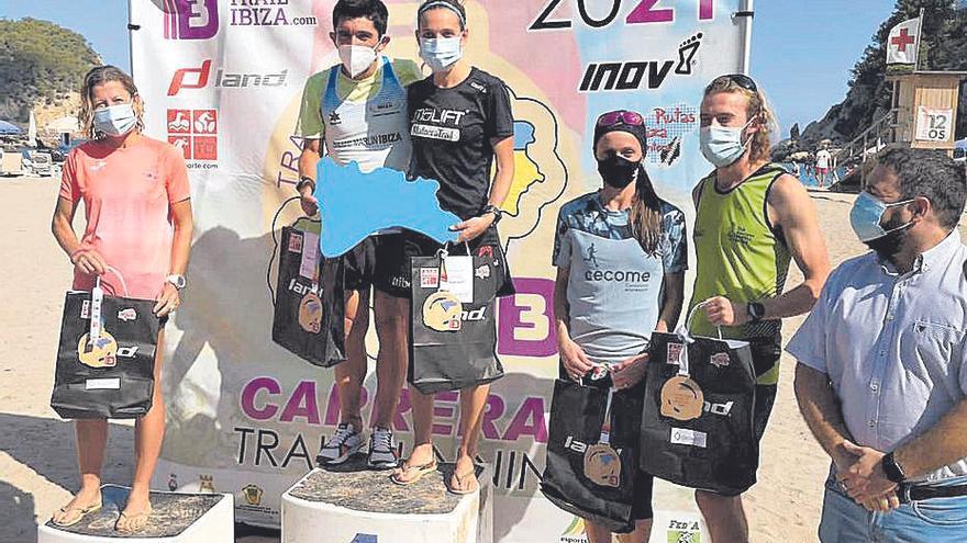 Bel Calero y William Aveiro ganan el Balear de trail de media distancia