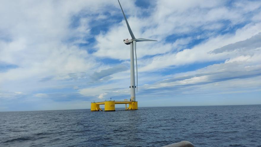 La eólica marina que llegará a Asturias