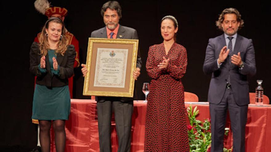 Maestro Shin, Medalla de Oro de la ciudad al Mérito Deportivo