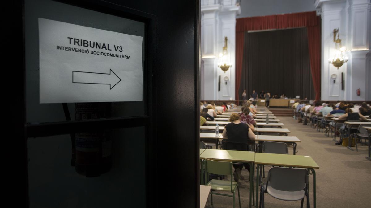 Oposiciones docentes de Secundaria 2021 en la Comunitat Valenciana: abierto el plazo de inscripción.
