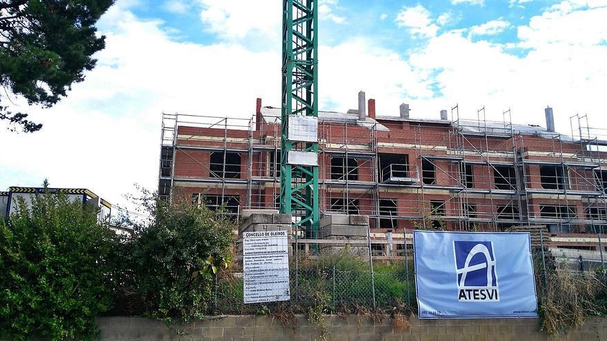 El empleo en la construcción esquiva el COVID y encadena tres años al alza en Galicia