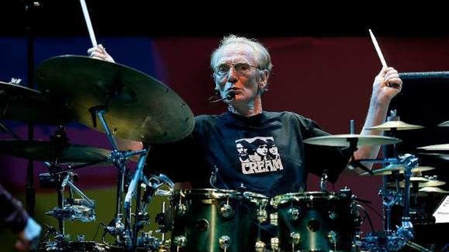 Fallece Ginger Baker, legendario batería de la banda Cream de Eric Clapton