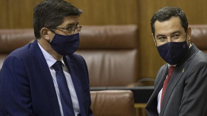 El PP ganaría en Andalucía con 3,1 puntos sobre el PSOE y volvería a sumar mayoría con Vox y Cs