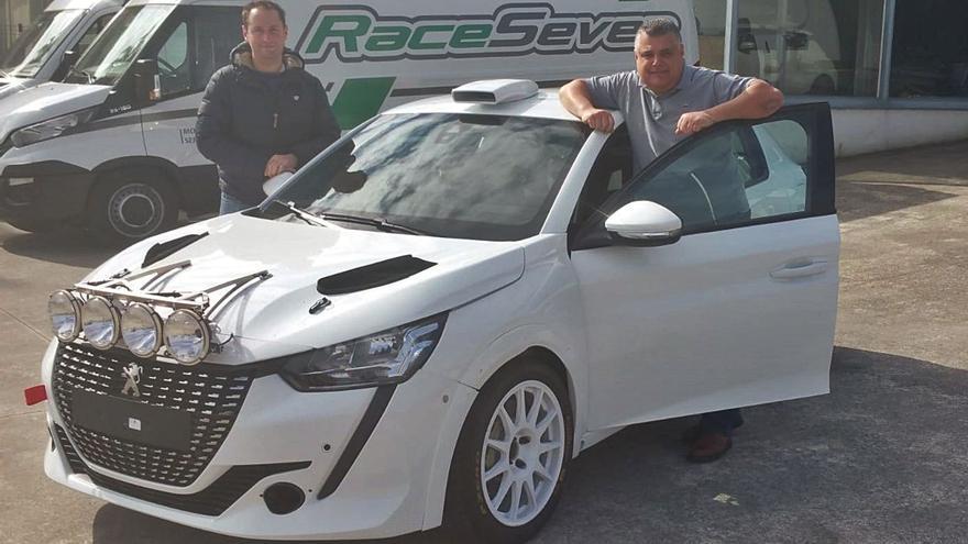 Manu Naranjo adquiere un Peugeot 208 Rally4 y quiere  debutar en el 'Comarca Norte'