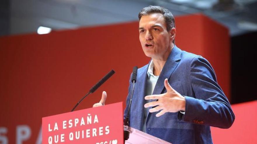 Sánchez promete blindar las pensiones en la Constitución