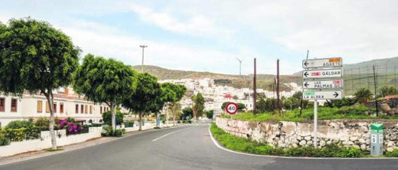 Agaete propone un tramo subterráneo para la nueva conexión con La Aldea