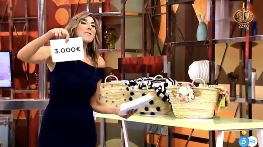 Un lapsus de Paz Padilla hace perder 3.000 euros a una espectadora de 'Sálvame'