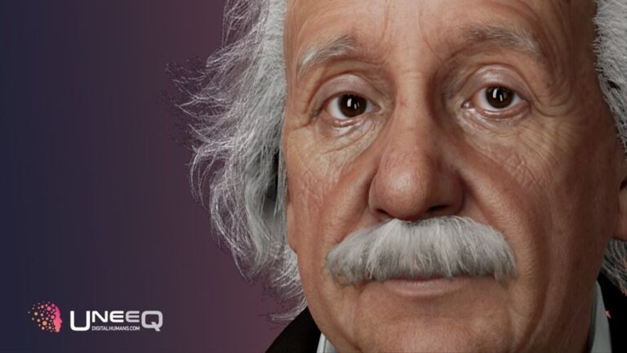 La Inteligencia Artificial resucita a Einstein