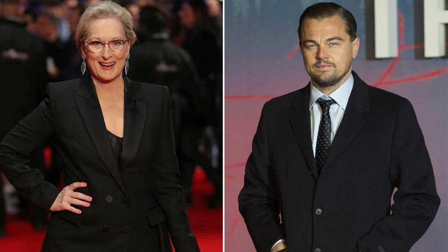 Leonardo DiCaprio y Meryl Streep estarán en 'Don't Look Up', lo nuevo de Netflix