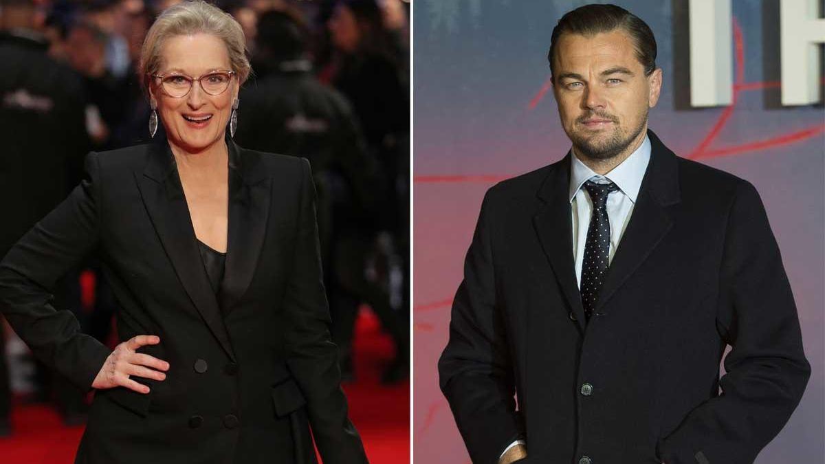 Meryl Streep y Leonardo DiCaprio.