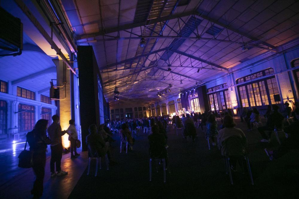Inauguración de las actividades en la Fábrica de Armas por los Premios Princesa