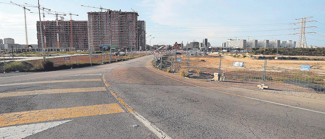 El futuro barrio de la Fe dará un nuevo acceso a la ciudad por la fachada sur