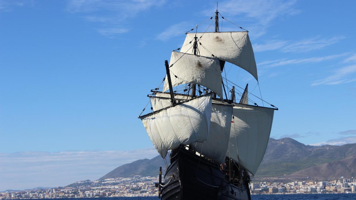 La Nao Victoria llegará a Mazarrón, donde abrirá sus cubiertas al público del 7 al 11 de abril